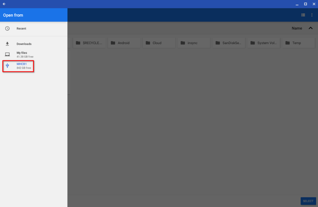 Setting up AutoSync for OneDrive on Chrome OS Step 14