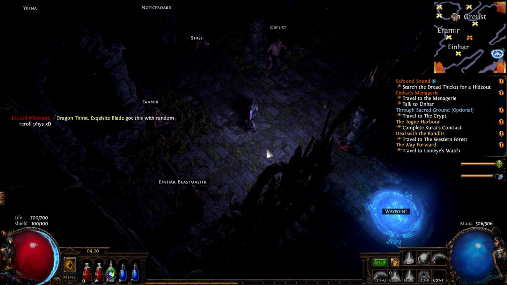 Path of Exile on Chrome OS 2