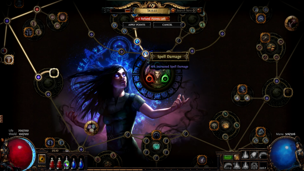 Path of Exile on Chrome OS 3
