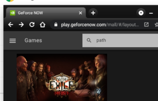 Gaming on Chrome OS: Path of Exile